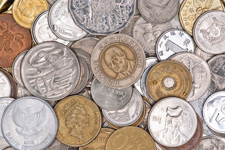 Coins currency