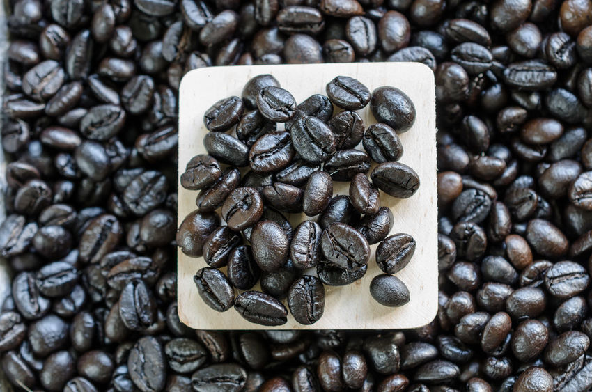 Abundance Brown Close-up Coffee - Drink Coffee Bean Coffee Cup Food Food And Drink Freshness Group Of Objects Indoors  Large Group Of Objects No People Raw Coffee Bean Roasted Roasted Coffee Bean Still Life