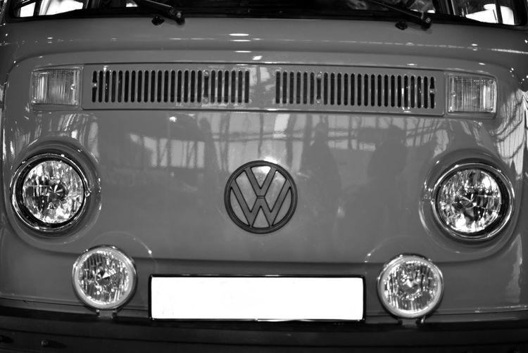 Close-up of vintage car