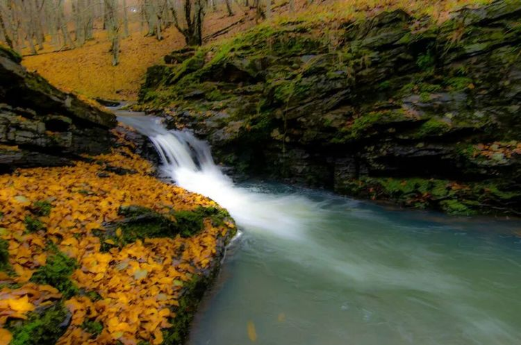Waterfall Autumn Colors Naturelovers Travelling