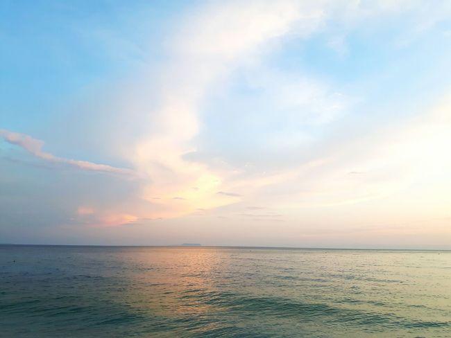 tranquillity Palasë In Colors 15 Ways Of Seeing Silence Clouds Water Sea Sunset Beach Pastel Colored Blue Sand Sun Summer Sunlight Romantic Sky Seascape Moody Sky Coast Coastal Feature Coastline Atmospheric Mood Dramatic Sky Refraction