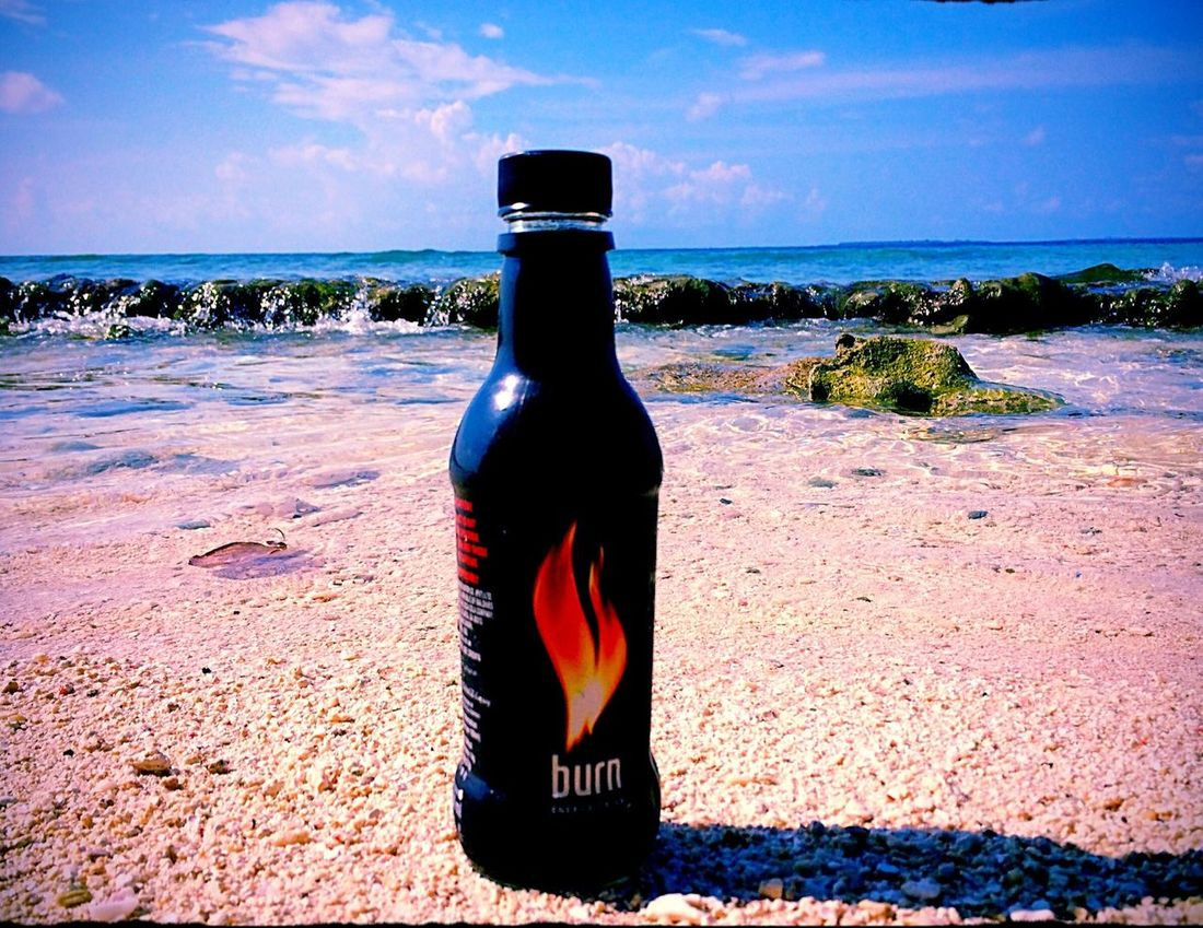Burn Maldives Food RedBull RedBull