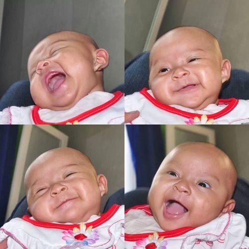 my little girl ... Khansa.. Babygirl Baby Smile Lovelovelove