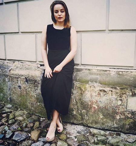 BlackDress Black Ladies Poland Warsaw Blogger Landi Landroses Elegant Romantic Night Trip Style Fashion Shopping Love Mystyle