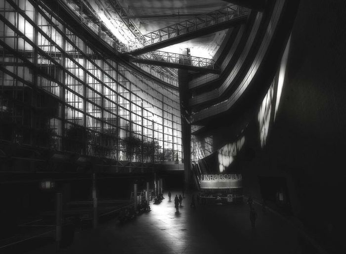 Japan Blackandwhite Building People Architecture Blackandwhite Photography The Architect - 2016 EyeEm Awards