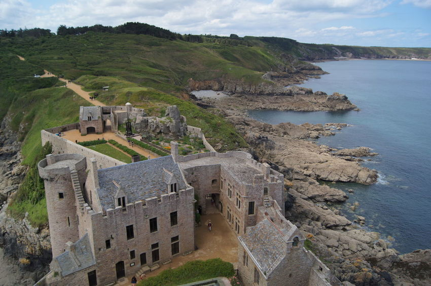 Aerial View Architecture Bretagne Fort La Latte France Frankreich High Angle View History Medieval No People Residential Building Sea Travel Destinations EyEmNewHere