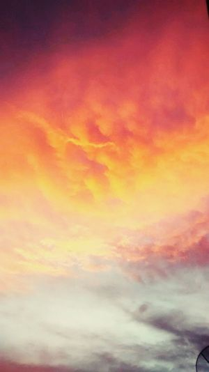 O ceu estava lindo para uma bela foto