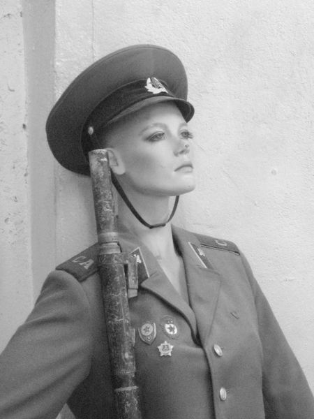 Blackandwhite Cap Day Hat Military One Person People Portrait