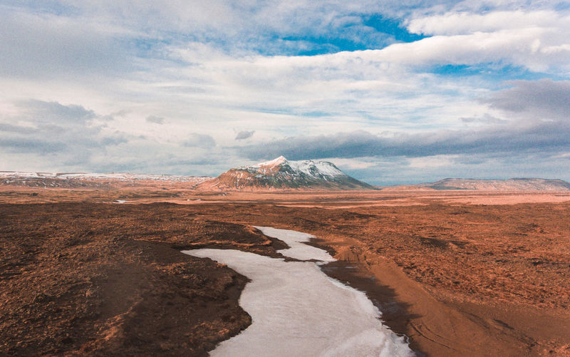 Flying around the beautiful Iceland Iceland Beauty In Nature Climate Cloud - Sky Day Environment Geology Idyllic Land Landscape Mountain Mountain Peak Nature No People Non-urban Scene Outdoors Physical Geography Remote Scenics - Nature Sky Snowcapped Mountain Tranquil Scene Tranquility Volcano Water