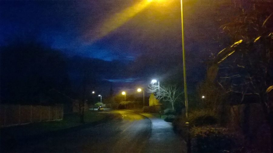 City City Life City Street Dark Dark Sky Early Shift Electric Light Empty Frost Frosty Night Glowing Illuminated Light Light Beam Nature Night No People On The Way To Work Outdoors Road Sky Street Light Street Lights Cities At Night