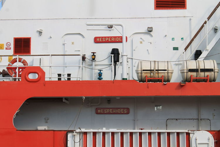 Hesperides I Spanish Navy Armada Española BIO Hesperides Hesperiden Gardens Biology Antartic Expeditio Boat Boats Boat Deck Sea Sea Life Spaın No People Outdoors Sin Editar