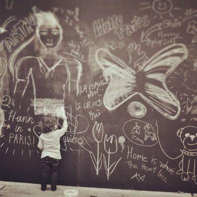 Paris Tags Child Wall Art