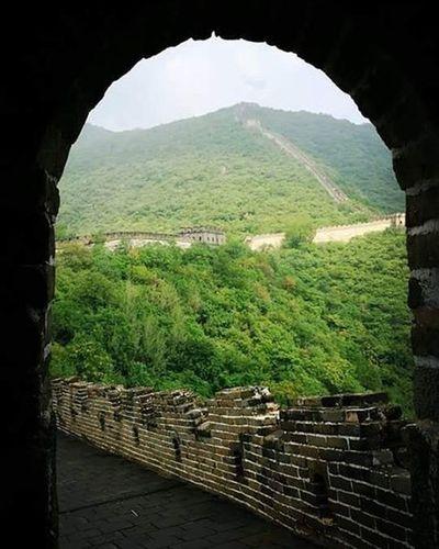 Thegreatwall Souvenir China Travel Globetrotter Globetrotting Nature Beautifulplace