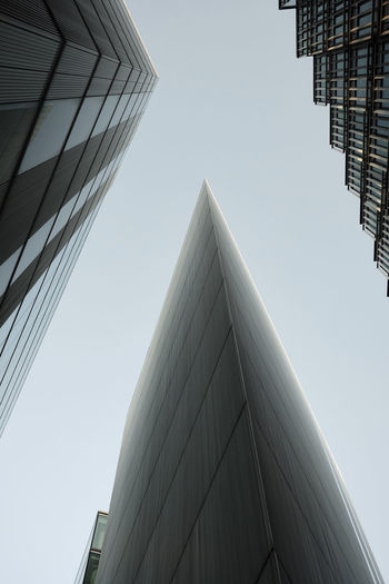 MoreLondon, London, UK - February, 2018 Angle Acute Architecture Built Structure Low Angle View Building Exterior Building Sky City Morelondon Financial District  Glass - Material Skyscaper 17.62° My Best Photo