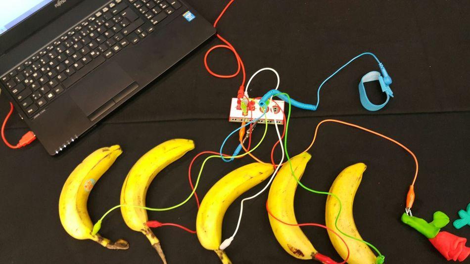 Chance Encounters Bananas Hightech Technology Power Source