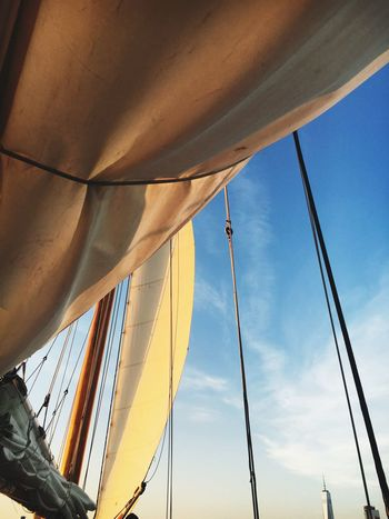 EyeEm Selects Low Angle View Sky No People Nautical Vessel Built Structure Architecture Sailboat sailing Day Mast Close-up