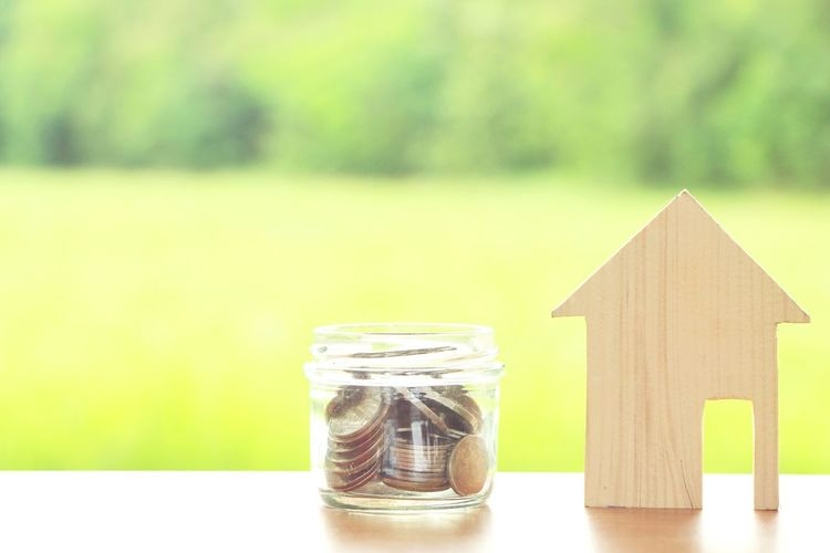 coins in glass jar with wood house model on green background,saving money concept. Savings Money Home House Model Wood Finance Buy Carry Estate EyeEm Selects Tree Coin Savings Currency Finance Wealth Investment Close-up Money Global Finance Bank Loan  Piggy Bank Economy Budget Tax Home Finances