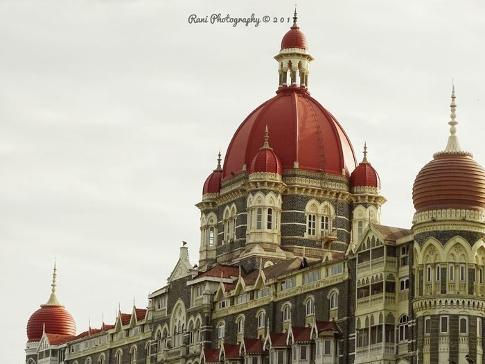 Architecture Dome Travel Destinations Building Exterior Built Structure Sky History City No People Outdoors Day Taj Hotel Mumbai Tajmahalpalacehotel Mumbai MumbaiDiaries EyeEmNewHere