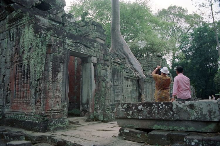 Few centuries after you leave your home in the middle of jungle. 35mm Film Analog Photography Analogue Photography Film Photography Filmisnotdead Built Structure Real People Two People Women Building Exterior Building Belief Spirituality