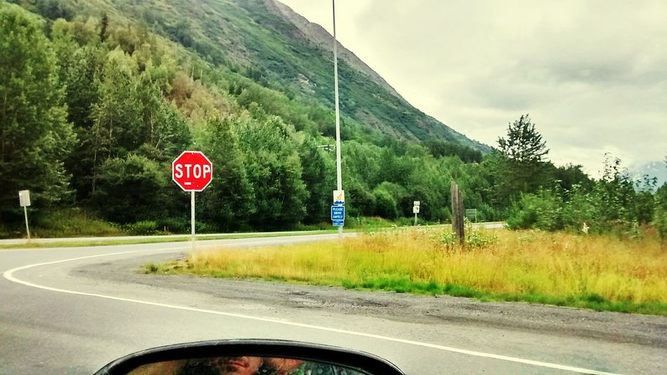 """The """"Y"""" Sterling Seward highway Alaska Road Tripping This Is Alaska Natural Beauty Alaska View Hello World Alaska Is Where I'm At Just Live Life To The Fullest <3"""