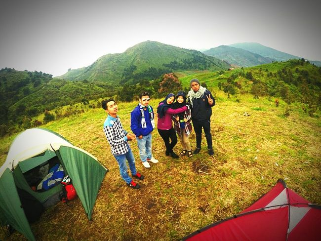 Beauty In Nature Camping Mountain Togetherness Nature Travel Travel Destinations Outdoors Treveling BeautyfullIndonesia Happy Time Day Dieng Indonesia Wonosobohitz Ayodolan
