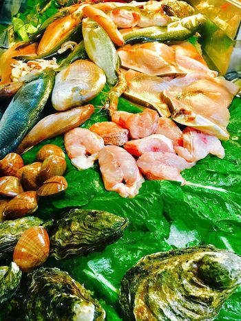 Pesce fresco misto Food And Drink Freshness Food Vegetable No People Healthy Eating Close-up Ready-to-eat Indoors  Day