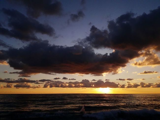 Nature_collection Sunset Dramatic Sky Cloud - Sky Landscape Beach Sky Cloudscape Outdoors Perspectives On Nature