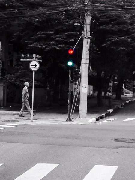 Street Photography EyeEm Best Shots - Black + White Colorsplash Street Go away or stop ?