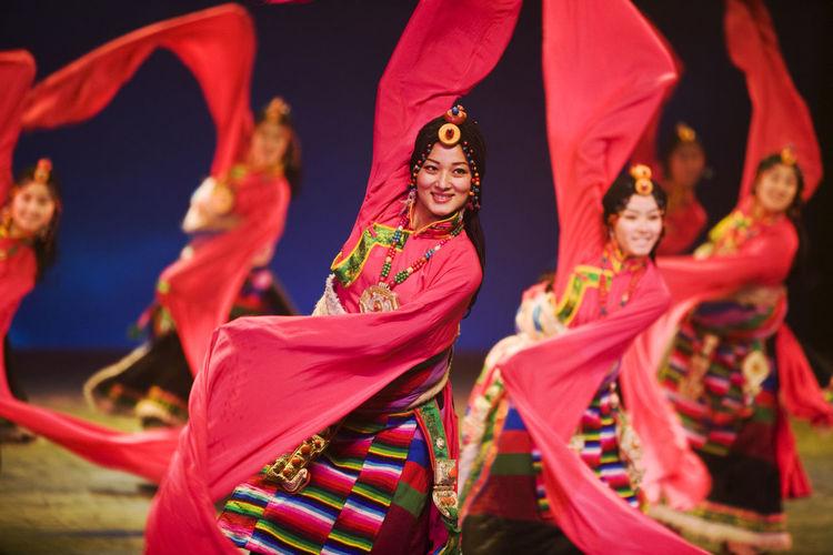 Dancing Tibetan