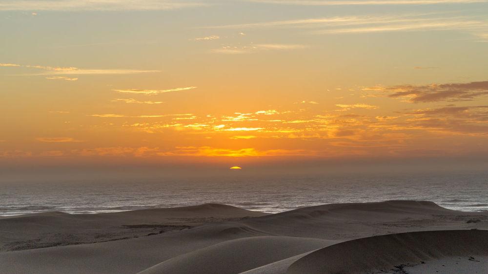 Cloud Coastline Natural Beauty Nature Port Alfred Rock Arid Climate Blue Coast Coast Line  Dry Landscape Ocean Sand Dune Sand Dunes Sky South Afica Sun Sunrise