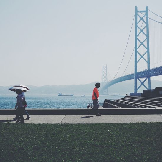 People Watching Kobe Relaxing EyeEm Best Shots Kōbe-shi Japan 明石海峡大橋 Bridge α6000