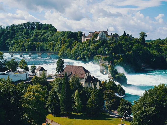 Rheinfall Rhinefalls Swiss Switzerland Traveling Iamonmywaytoeverywhere Waterfall