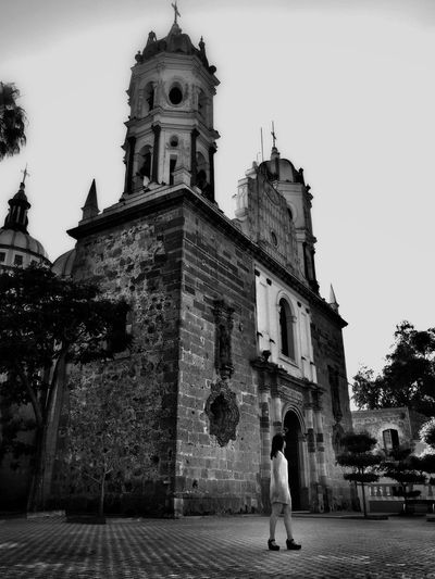 View of a church