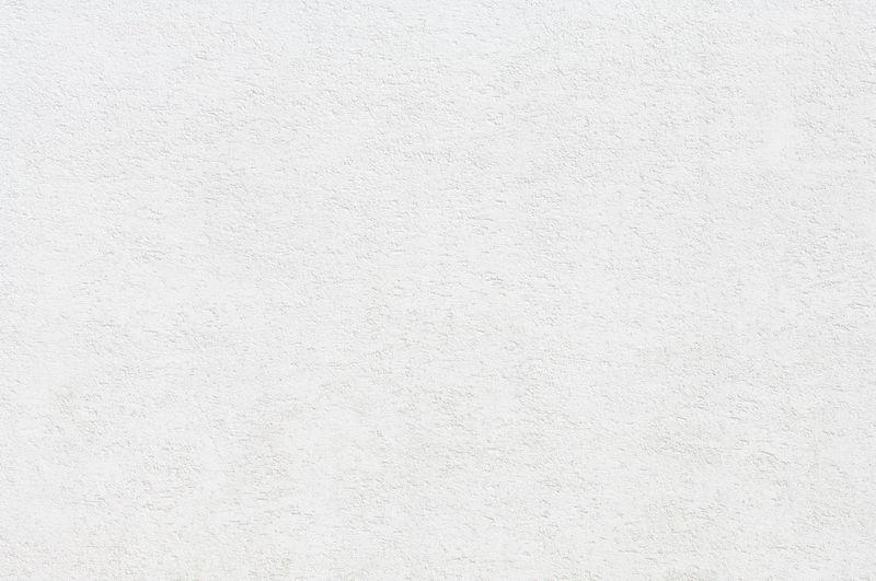 White plastered
