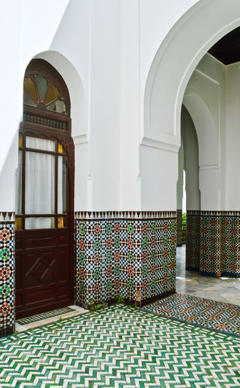 Oriental feelings Outdoors Paris Mosque Grand Mosque Travel Travel Destinations Mozaic Mozaic Tile Color Colors Colorful Colored Background Oriental Arabic Arabic Style Arabic Architecture Architecture Built Structure Arch Building No People Flooring Entrance Indoors  Pattern Door Multi Colored Day Place Of Worship Religion Spirituality Belief Arcade Architectural Column Ornate Tiled Floor Floral Pattern Architecture colour of life The Architect - 2019 EyeEm Awards