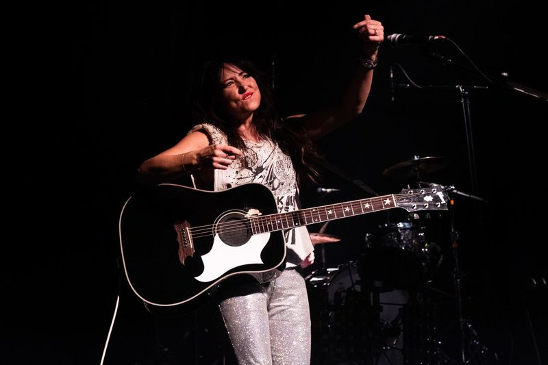 KT Tunstall live at the Roundhouse- Instagram RobinLDN Performance Music Arts Culture And Entertainment Musical Instrument Musical Equipment One Person Musician Playing Night Guitar String Instrument Stage - Performance Space Artist Indoors  Performing Arts Event