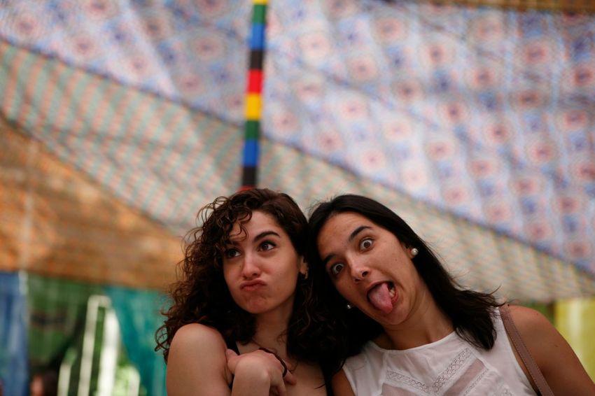 Crazy people is the funniest. EEA3-madrid The Global EyeEm Adventure Madrid Palacio De Cristal The Portraitist - 2015 EyeEm Awards The Moment - 2015 EyeEm Awards Friends