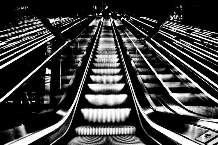 Quo Vadis? Bnw_friday_eyeemchallenge Bnw_stairways