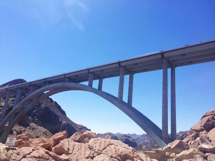 Hoover Dam Bypass Bridge in the heat of summer First Eyeem Photo