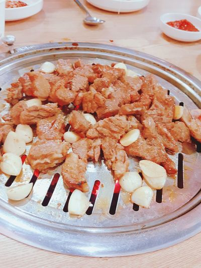 EyeEm Selects Food No People Ready-to-eat Meat Ribs Of Beef 양념갈비 숯불구이 고기 Food Stories