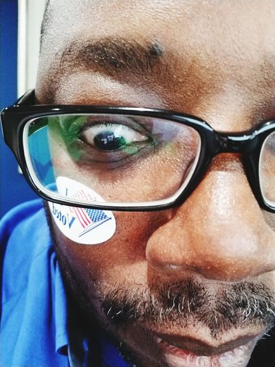 Vote Man Vote I Voted Solo Austin Democratic Republican Democracy Election Funny Funny Faces Representation Eyeglasses  Portrait Human Eye Looking At Camera Headshot Eyesight Close-up Glasses Eyeball Eyebrow