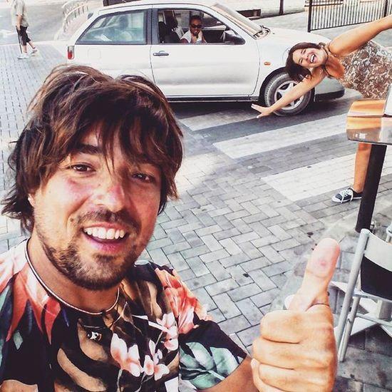 Selfy Colgados Eso Locos Nice Cute Amigos Calle Summer Veranito Caloret Terraza Gente Coche Lore Nacho LOL MOFE Julio Castalla