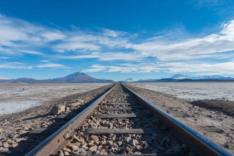 Tracks through