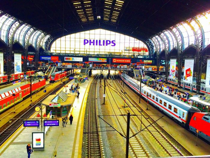 Hamburg - Hauptbahnhof 🚝 Railroad Station Germany Hamburg