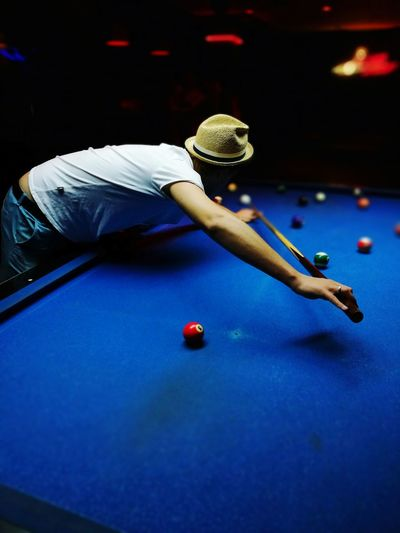 Sport Pool Table Indoors  Pool Ball One Man Only One Person Adult Men Pool - Cue Sport Ball Lifestyles People Snooker Pool Cue Competitive Sport Sportsman Match - Sport Competition EyeEm Selects Relaxing The Week On EyeEm Europe Bulgaria City Day