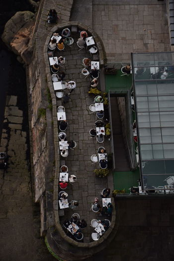 High Angle View City Travel Outdoors Table Cafe Food People Day Eat Socializing #NotYourCliche Love Letter