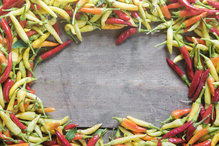 Full frame shot of pepper