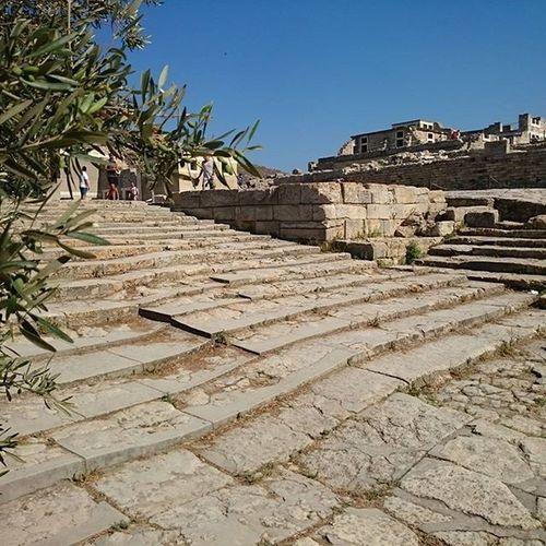 Knossos Knossospalace Archeologicalsite Crete greece