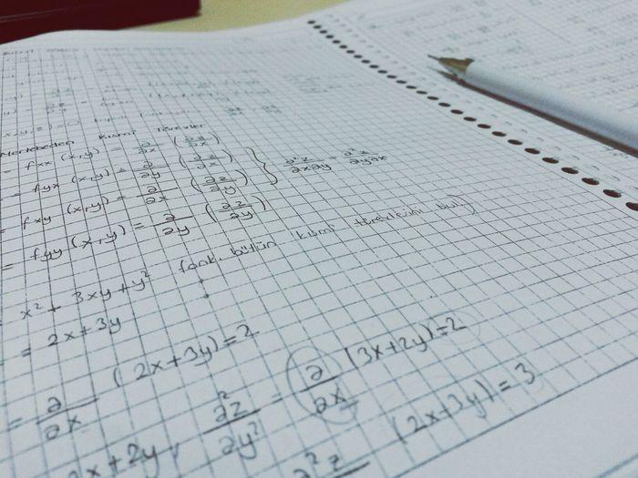 Mathematics Bored Studying