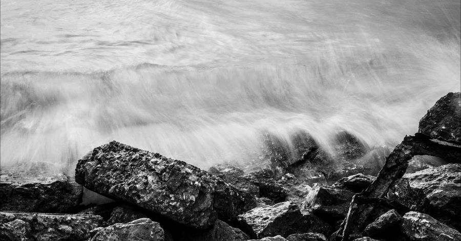 destruction~ Simplicity Photography Water Blackandwhite